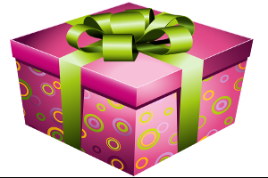 icon_Pink_Gift_Box_with_Green_Bow_PNG_Picture
